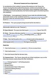 sample parking lease agreement sample lease contract forms 10
