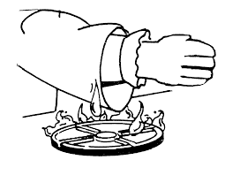safety in the kitchen clipart clipartxtras