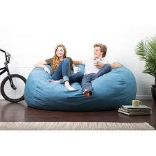 comfort research big joe lux bean bag sofa walmart com
