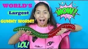 u0027s largest gummy worm kid english