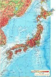 South Asia Physical Map by Maps Of Japan Detailed Map Of Japan In English Tourist Map Of