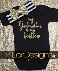 godmother gifts to baby godmother is my bestie goddaughter gift baby girl