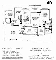 3 bedroom 2 bathroom house plans 2 story house plans with basement and 3 car garage beautiful 1