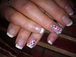 nail designs for acrylic french manicure
