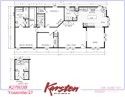 avalon series manufactured home floorplans double wide homes k27603b yosemite 27 a png