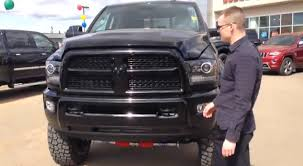 dodge blackout truck custom blacktop edition ram laramie 3500 crew cab