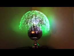 vintage fiber optic ball lamp by fantasia 1970s youtube