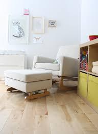 Nursing Rocking Chair Furniture Dark Wood Gliders Nursery Rocking Chair For Comfortable