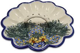 ceramic deviled egg platter deviled egg plate world pottery