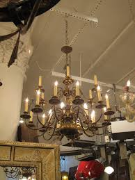 Williamsburg Chandelier 1950s Colonial Style Oil Rubbed Bronze Two Tier Chandelier For