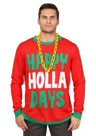 christmas sweaters happy holla days christmas sweater