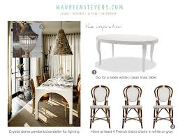 Woven Bistro Chairs Living Room Design Board Maureen Stevens