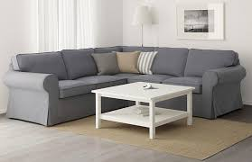 canap en l test et avis sur le canapé 2 places en tissu ektorp tests avis