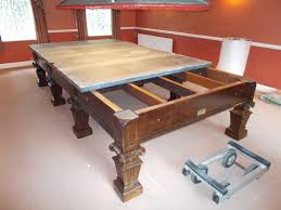 how to disassemble a pool table snooker table dismantle and transport relocation use gcl billiards