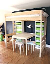 bedroom diy loft with desk and stairs homemade bunk beds pictures designs ideas plans bedroom