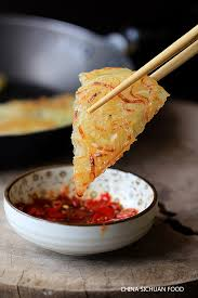 potato starch potato pancake china sichuan food