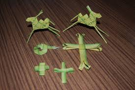 palm leaves for palm sunday today was palm sunday and generally in the coptic orthodox church