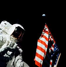 What Does The Come And Take It Flag Mean A Scientist On The Moon Nasa