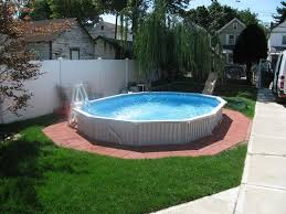 Backyard Above Ground Pool by 77 Best Above Ground Pool Ideas Images On Pinterest Backyard