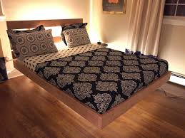 Platform Bed Frame Plans by Awesome Floating Platform Bed Frame With Plans How To Build
