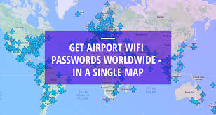 Map Of Miami International Airport by Get Airport Wifi Passwords Worldwide In A Single Map Travel