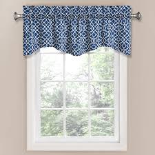 interior bay window curtain rods with waverly valances