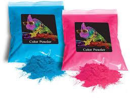 amazon com holi color powder 1lb pink and 1lb true blue gender