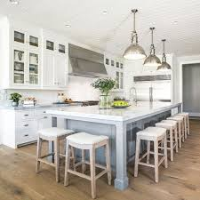 White Island Kitchen Brilliant Best 25 White Kitchen Island Ideas On Pinterest With