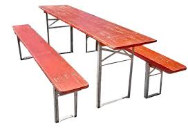 german beer garden table and bench vintage german beer garden table w benches omero home