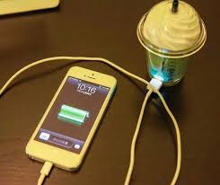 starbucks phone charger 3 colors free shipping worldwide