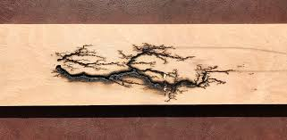 wood lichtenberg figures 3 steps with pictures