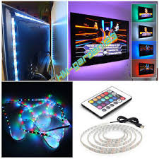 remote control led strip lights remote control usb cuttable adhesive led strip light tv backlight