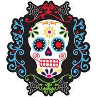 dia de los muertos decorations day of the dead decorations supplies day of the dead skulls
