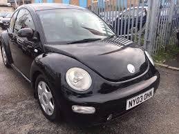 vw beetle 1 9 diesel manual tdi 2003 black service history air con