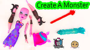 create monster doll cam pack playset water color change color