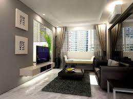living room captivating apartment design ideas elegant grey decor