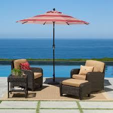 Osu Umbrellas by Sonoma Goods For Life 9 Ft Crank And Tilt Patio Umbrella