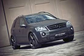 mercedes jeep matte black kicherer unveils a new tuning package for the mercedes ml63 amg