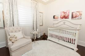 light grey tufted nursery glider design ideas