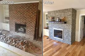Baby Proofing Fireplace Brick How To Resurface A Fireplace Quickly Easily Creative Faux Panels