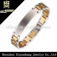 Custom Gold Bracelets Cheap Custom Male Energy New Gold Bracelet Designs Buy New Gold