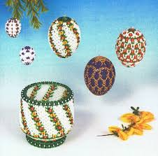 beaded ornaments free patterns stenboden pattern