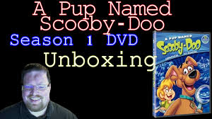 a pup named scooby doo a pup named scooby doo season 1 dvd unboxing youtube