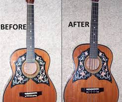acoustic guitar to acoustic bass conversion 9 steps