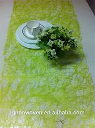 lime green table runner cheap lime green sizo web table runner for wedding buy sizo web