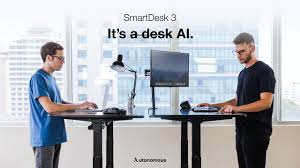 autonomous ai smart desk smart desk 3 world s first ai standing desk youtube