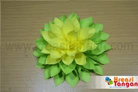 membuat hiasan bunga dari kertas lipat kerajinan tangan dari kertas lipat kreasi tangan