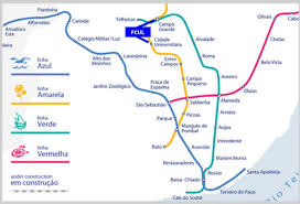 Metro Yellow Line Map by