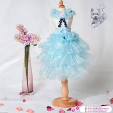 Dog Wedding Dress Wedding Dress In Light Blue