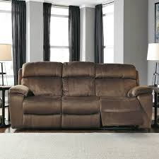 ashley uhland power reclining sofa with power adjusting headrests